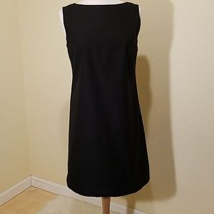 Elie Tahari Black Sheath Dress